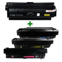 Kit Toner Compatível CF360/1/2/3 508A Preto e Coloridos até 6 mil páginas - Extranik