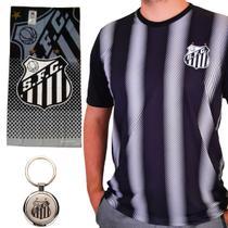 Kit Torcedor Santos - Camisa + Toalha + Chaveiro Oficial -