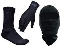 Kit Touca Ninja Nova + Luva Thermic X11 + Meia Thermic X11 Segunda Pele -