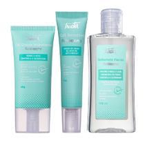 Kit Tracta anti antiacne gel Hidratante + gel secativo + sab -