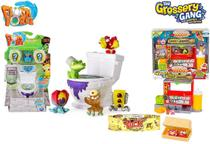 Kit Trash Pack Grossery Gang Podre Dog Yuck + Privadinha Flush Force - Dtc/Sunny