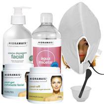 Kit Tratamento Facial Profissional Hidramais Com Máscara Térmica Santa Clara -