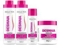 Kit Tratamento para Cabelo Seduction - Shampoo + Candicionador + Leave-in + Máscara