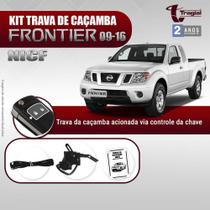 KIT TRAVA DE CAÇAMBA TRAGIAL FRONTIER 2010/2016 acionada através do controle ORIGINAL da chave -