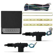 Kit trava elétrica 2 Portas Dupla Serventia Universal - Doorbem