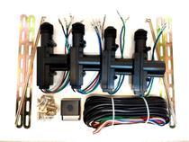 Kit trava eletrica 4 portas universal duplo comando - Permak
