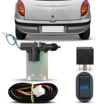 Kit Trava Elétrica de Porta Malas Celta 2002 a 2014 2 ou 4 Portas Abre no Botão e Alarme - Dial