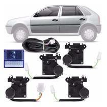 Kit Trava Elétrica Dedicada Gol Parati G2 G3 G4 2002 a 2013 Fox 2003 a 2009 4 Portas Mono Serventia - De Paula