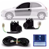 Kit Trava Elétrica Específica Celta 2006 a 2014 2 Portas Mono Serventia Plug and Play - De Paula