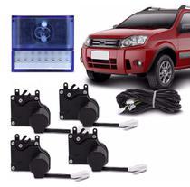 Kit Trava Elétrica Especifica Fiesta Ecosport 2002 a 2013 4 Portas Mono Serventia Plug and Play - De Paula