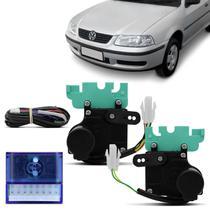 Kit Trava Elétrica Específica Gol Bola G2 G3 G4 1996 a 2013 2 Portas Mono Serventia Plug and Play - De Paula