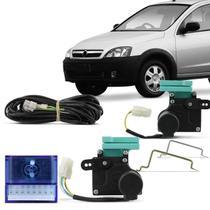 Kit Trava Elétrica Específica Montana 2003 a 2010 2 Portas Mono Serventia Sistema Plug and Play - De Paula