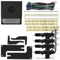 Kit Trava Elétrica Gol Parati G2 G3 G4 96 a 14 4 Portas Dupla Serventia Com Jogo De Suporte Original - Tech One