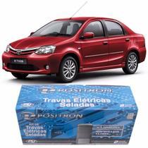 Kit Trava Elétrica Pósitron Toyota Etios 4 Postas 012249000 - Positron