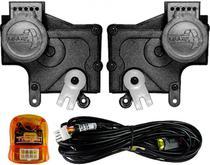 Kit Trava Eletrica Tragial  Palio / Novo Uno / Strada / Celta / Novo Ka / Doblo - Mono Serventia 2 Portas -