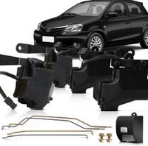 Kit Trava Elétrica Tragial TE4 MN 4P Toyota Etios -
