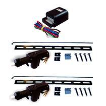 Kit Trava Elétrica Universal 2 portas 24V 1 Mestre e 1 Escravo - DNI -