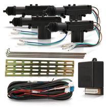 Kit Trava Elétrica Universal Tr410 4 Portas Dupla Serventia - Positron