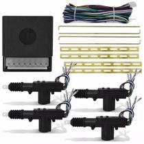 Kit Travas Eletrica Universal 4 Porta C/ Chicote Espaguetado - Roadstar