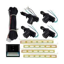 Kit Travas Elétrica Universal 4 Portas Dupla Serventia Tech - Tech One