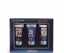 Kit Travel Men Colection IDC - Sab. Liquido p/ rosto 100 ml + Shower Gel 100 ML + Balsamo Pos-Barba 100 ML - IDC Institute