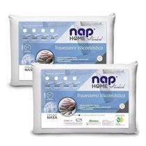 Kit Travesseiro de Viscoelástico Home Standard - 16cm NAP -