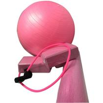 Kit Treino Yoga Pilates Fisioterapia Com tapete  bola suiça 40 cm, bomba para encher a bola, 2 bloco - Wct Fitness