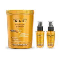 Kit Trivitt 1 Hidratante Intensiva + 2 Power Oil -