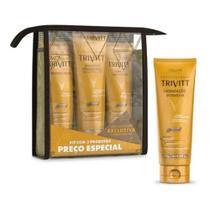 Kit Trivitt - Home Care com Leave-In com Hidrataçao -