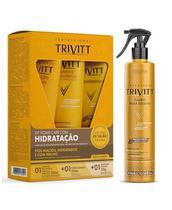 Kit Trivitt Home Care Hidratação+ Fluido P/ Escova Itallian -