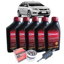 Kit troca de óleo 5w30 Ford Motorcraft e filtros de combustível e óleo- Ford Focus 2.0 16V até 2013 -