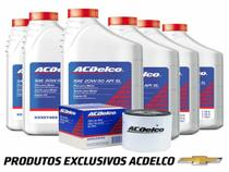 Kit Troca de Óleo e Filtro ACDelco 20w50 GM Astra 1.8 2.0 8v -