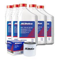 Kit Troca De Oleo Motor 5l Semssintetico Filtro Vectra astra s10 zafira blazer trailblazer - Acdelco
