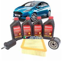 Kit troca de óleo Motorcraft 5W30 e filtros - New Fiesta nacional após 2013 - italia ricambi - Ford