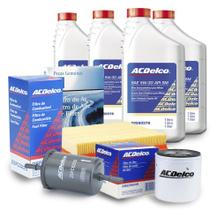 Kit Troca Oleo Filtros 5w30 Semissintetico Pecas Genuinas Gm Prisma 1.0,1.4,flex celta 1.0 Flex -
