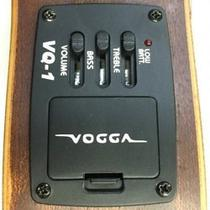 Kit Ukulele Eletroacústico Soprano Nylon + Capa Vuk309 Vogga -