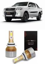Kit Ultra Led Tay Tech Farol De Milha Hilux 2009/2016 Hb4
