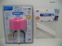 Kit Umidificador Fresh USb Rosa + Refil  2un ON Eletrônicos -