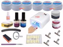 Kit Unhas Gel 6 - Sina