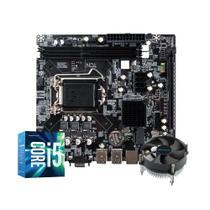 Kit Upgrade Gamer Megatumii Intel i5 Placa e Cooler -