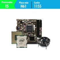 Kit Upgrade Gamer Megatumii Intel i5 Placa e Cooler -