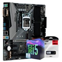 Kit Upgrade Placa mãe ASROCK Fatal1ty B360M Performance LGA 1151, Processador Intel Core i5 9400F 4.10Ghz Nona Geração, SSD Kingston 480GB - Skill Gaming