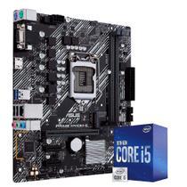 Kit Upgrade Placa Mãe Asus H410M-E, Processador Intel Core i5 10400F 4.30Ghz Décima Geração - SKILL GAMING