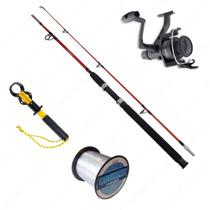 Kit Vara Lumis Expert 1,65m + Molinete IX4000 + Linha Cruiser 0,40mm + Alicate - Kit de pesca