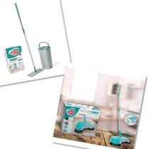 Kit Vassoura Mágica Flash Limp + Mop Lava E Seca Fit Mop6088 - Flashlimp