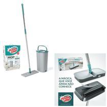 Kit Vassoura Mágica Flash Limp + Mop Lava E Seca Fit Mop7245 - Flashlimp