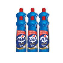 Kit Veja Gold Multiuso  Squeeze 750Ml 6 Unidades -