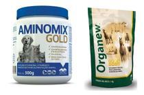 Kit vetnil 1 organew 1 kg validade 02/21 + 1 aminomix gold 500 g validade 02/21 suplemento alimentar -