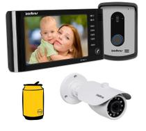Kit Video porteiro Eletronico IV7010 HF com camera Intelbras