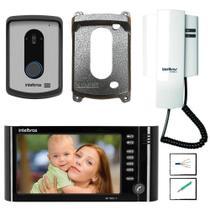 Kit Video Porteiro IV 7010 HF Intelbras com cabos e extensão -